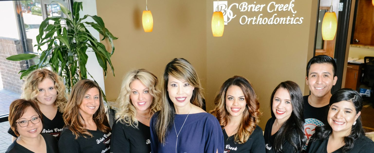 Dr. Lee and the team at Brier Creek Orthodontics