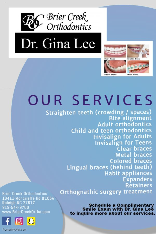 Raleigh Orthodontist Services