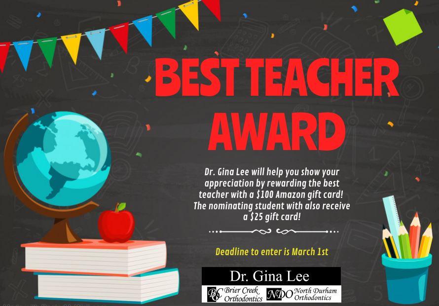 Best Teacher Award Contest
