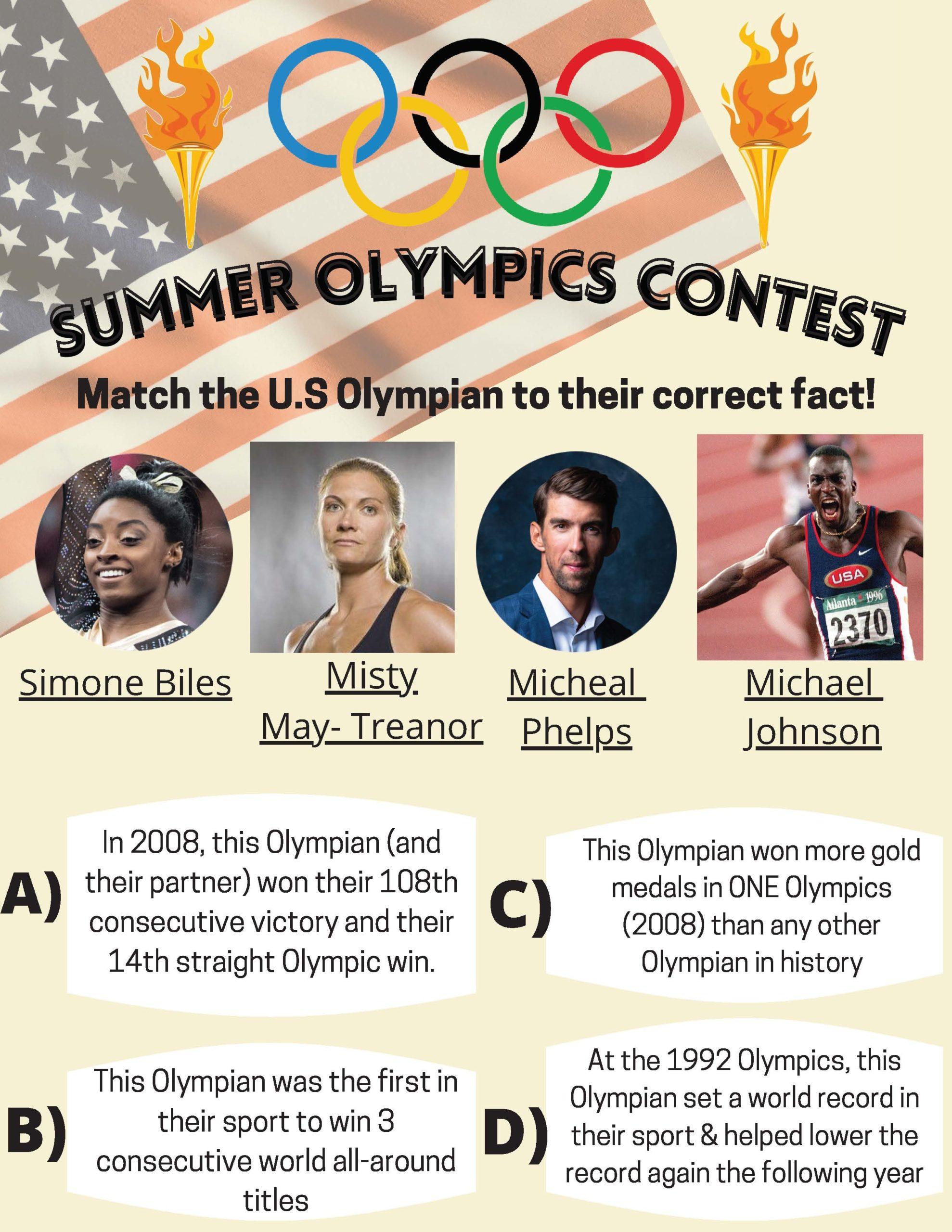 Summer 2021 Olympics Contest